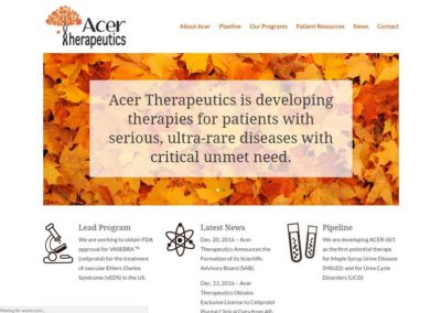 Acer Therapeutics, Boston