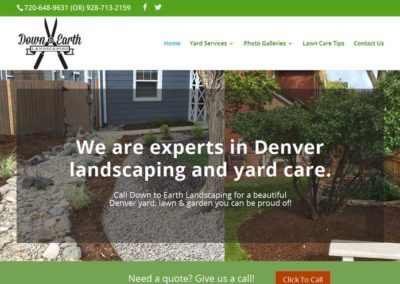 Down to Earth Landscaping, Denver