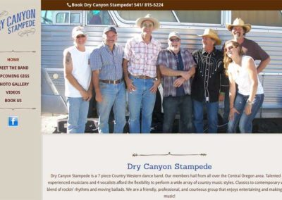 Dry Canyon Stampede, Bend