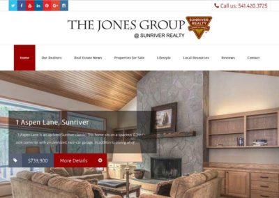 The Jones Group, Sunriver