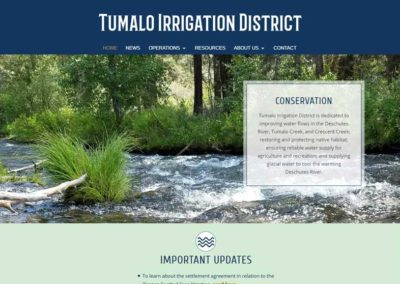 Tumalo Irrigation District, Tumalo